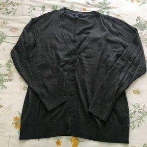 Gap Dark Gray Cardigan